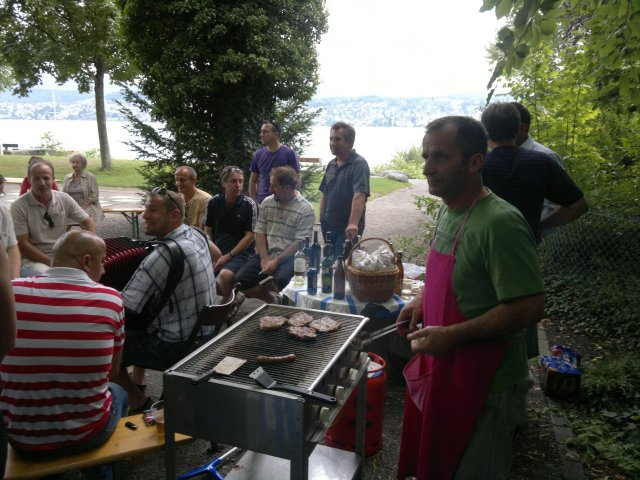 Grillparty Küsnacht 2011